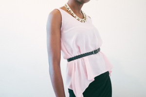 begin: Pink Chiffon