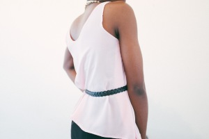 begin: Pink Chiffon back