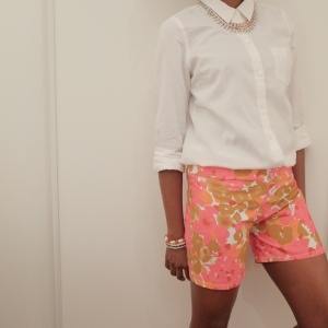 Begin:patterned shorts