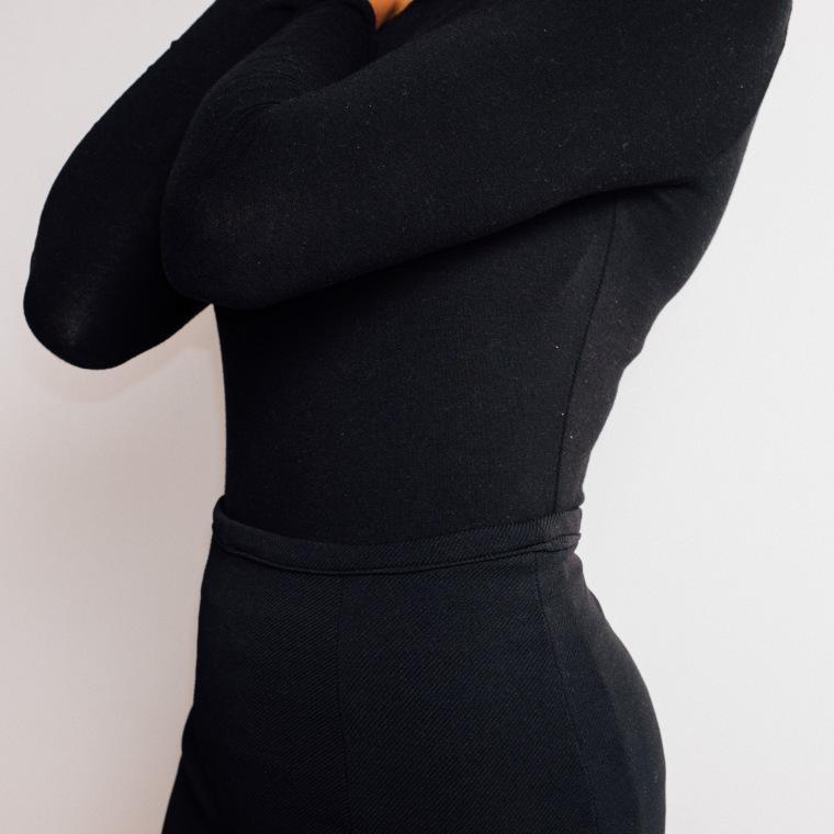 Black skirt-Enang Ukoh