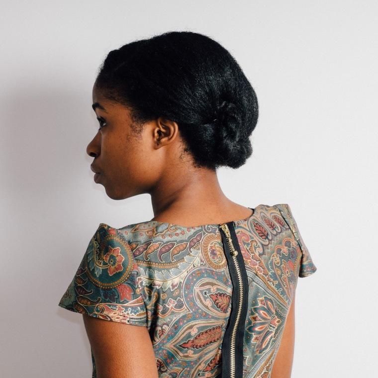 Sheath dress- Enang Ukoh Begin