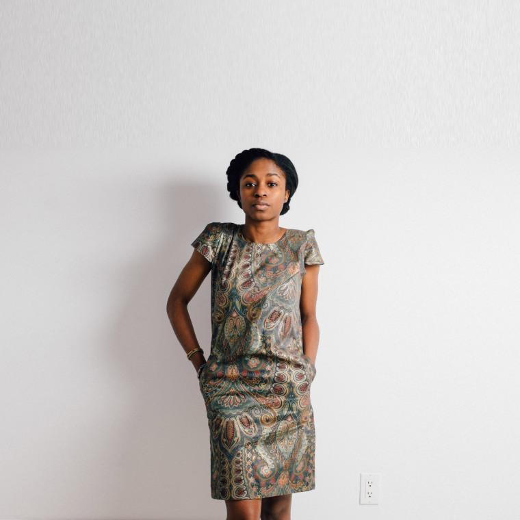 Shift dress-begin-Enang-Ukoh