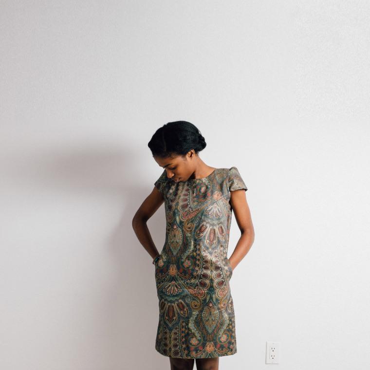 Shift dress-enang Ukoh