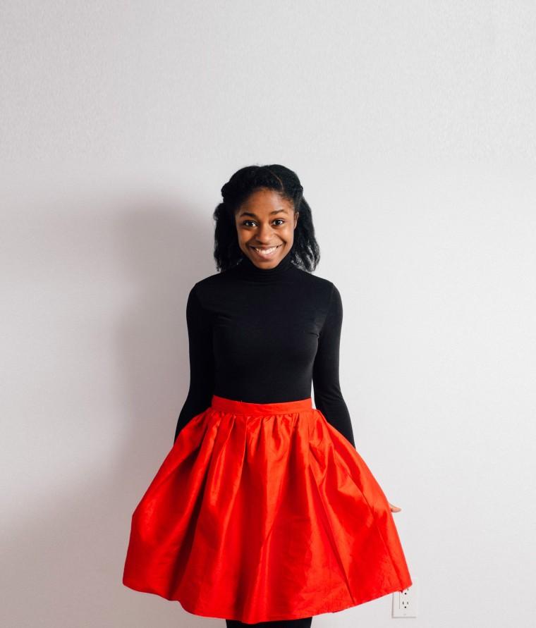 Full skirt-Enang Ukoh