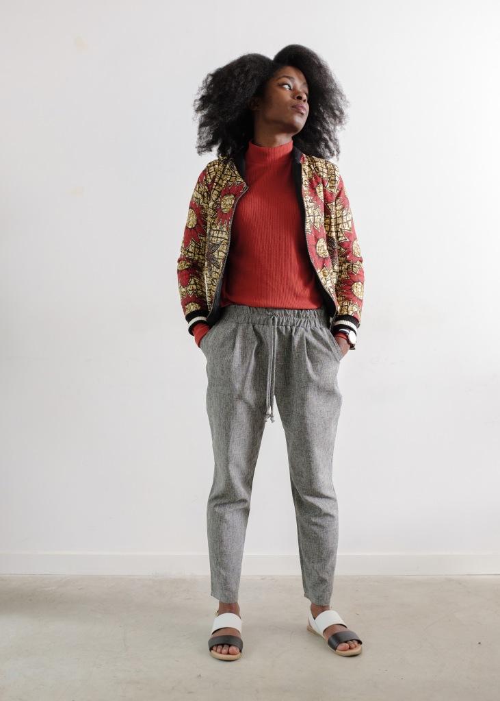 ankara jacket