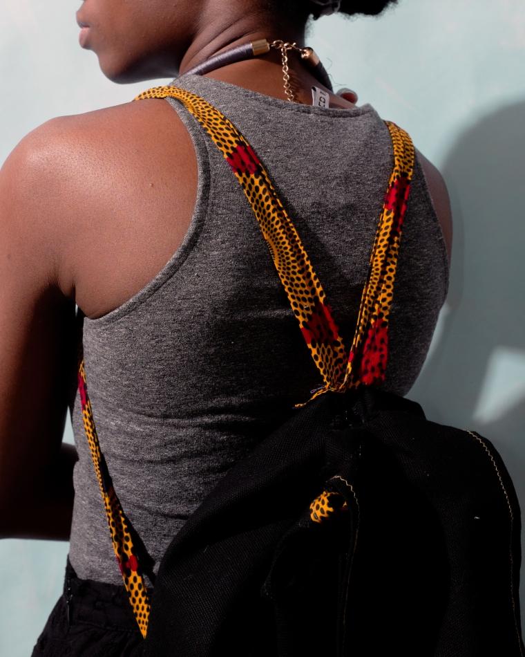 Black knapsack