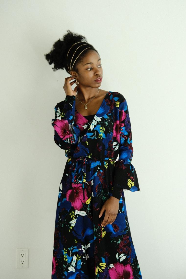 Floral jumpsuit 1